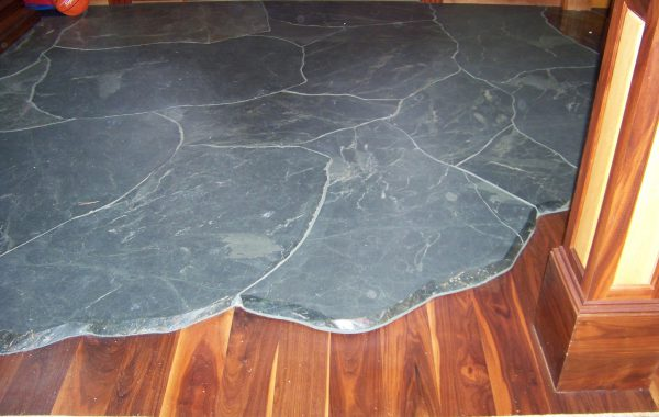 Split Boulder for floor