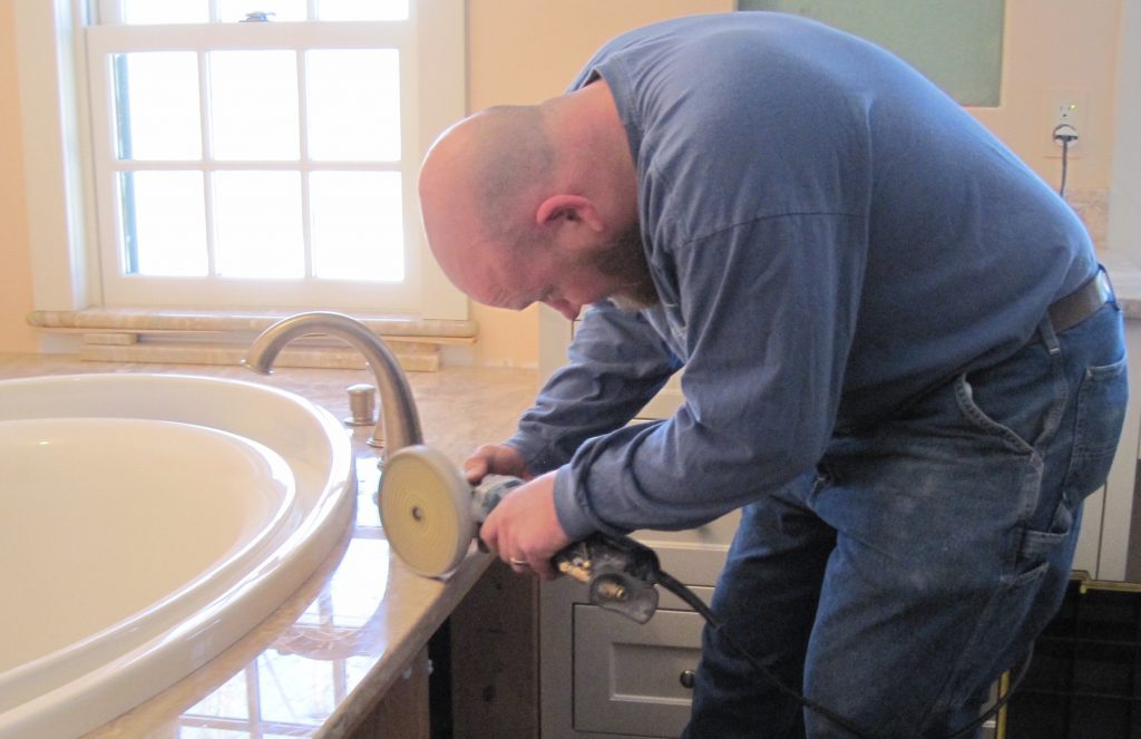 shaker hill granite countertop installation